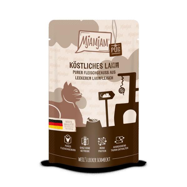 MjAMjAM - Quetschie - purer Fleischgenuss - köstliches Lamm pur 125 g