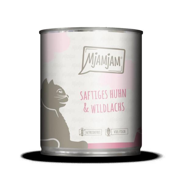 MjAMjAM - saftiges Huhn und Wildlachs 800 g