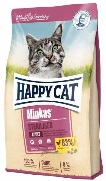 Happy Cat Minkas Sterilised Geflügel 10kg