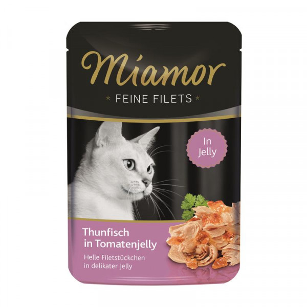 Miamor FB Feine Filets Thunfisch & Tomatenjelly 100g