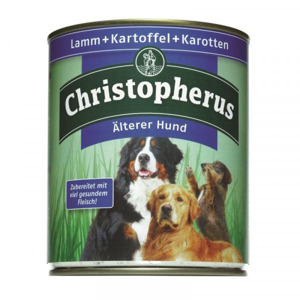 Christopherus Dose Älterer Hund Lamm, Kartoffeln & Karotten 800g