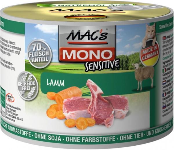 MACs Cat Mono Sensitive Lamm 200g