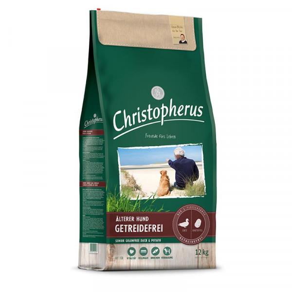 Christopherus Getreidefrei Senior Ente & Kartoffel 2 x 12kg Spardoppelpack