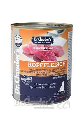 Dr. Clauders Selected Meat Kopffleisch 800g