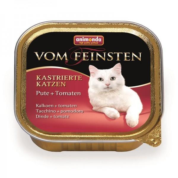 Animonda vom Feinsten für kastrierte Katzen mit Pute & Tomate 100g