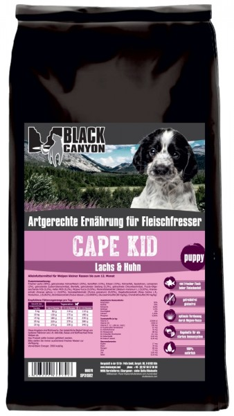 Black Canyon Cape Kid 15kg